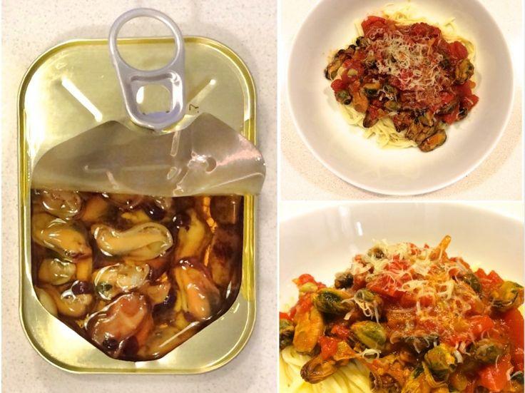 Easy mussels pasta recipe