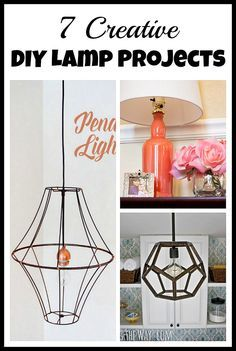 Making your own lamp - Check more details on www.prettyhome.org