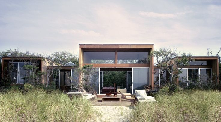 Dwell - Must-See Modern Beach Houses on Fire Island Tour