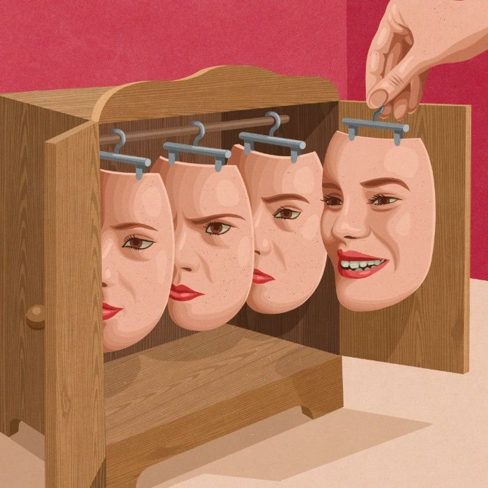 'Put on a happy face' , made by: John Holcroft