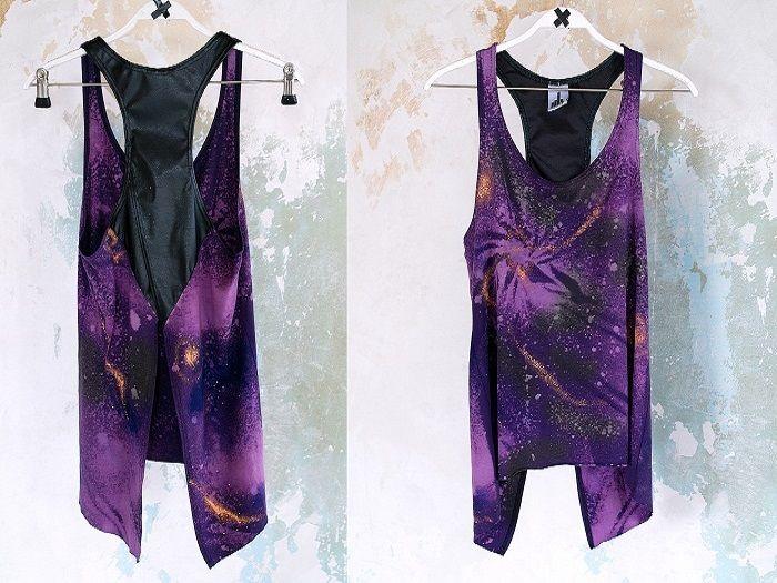 DIY Anleitung: T-Shirt mit Galaxy-Print // diy: galaxy print shirt tutorial via DaWanda.com