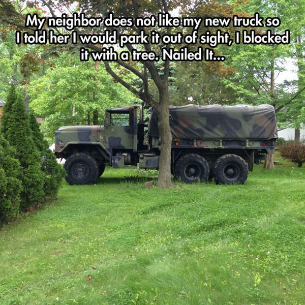A Master Of Camouflage - Military humor