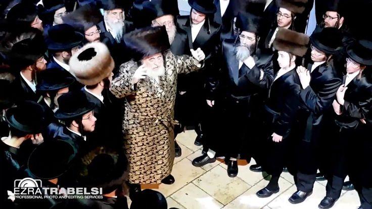 Viznitz Rebbe In Meron A Week Before Lag Baomer 5777