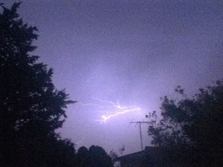 My one and only lightning shot.