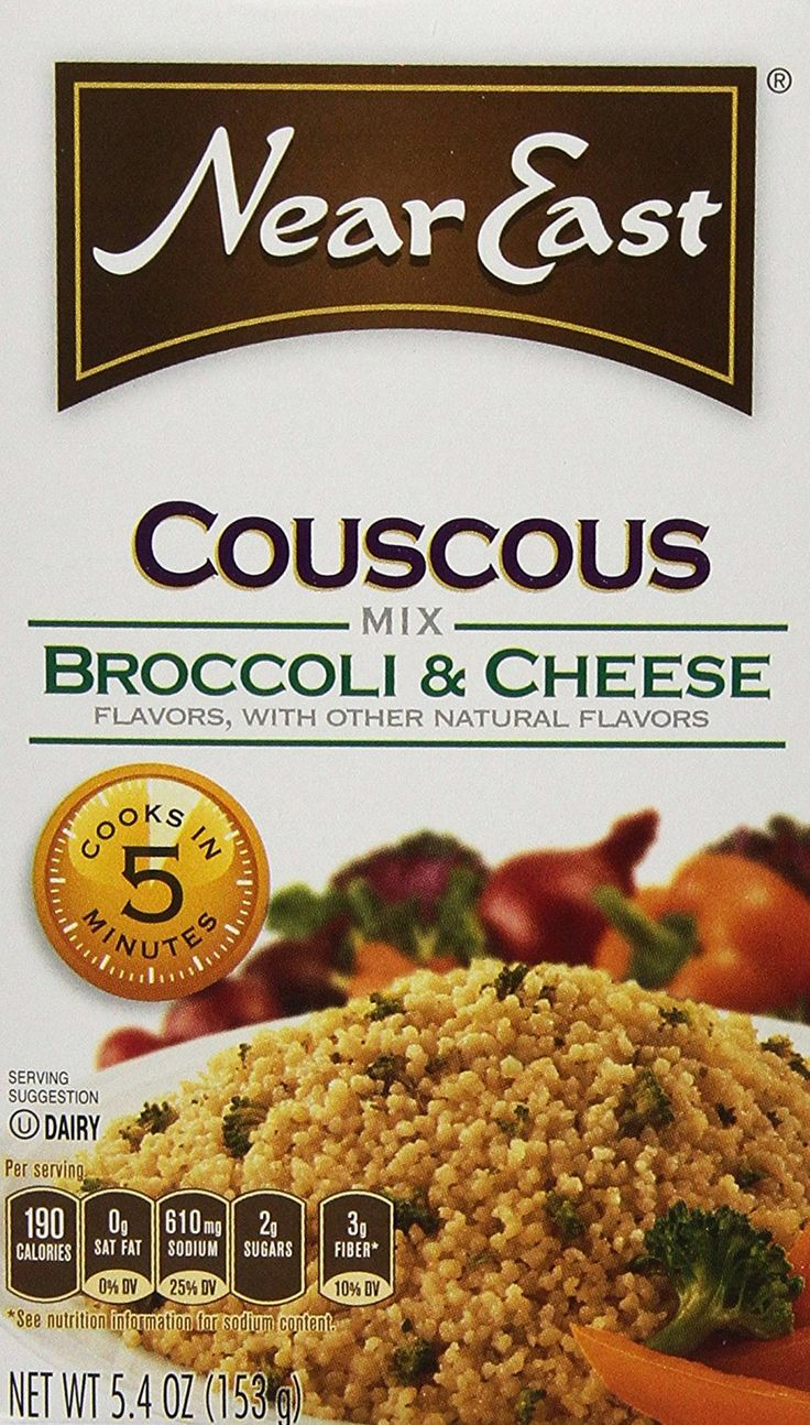 Near East Couscous Mix, Broccoli