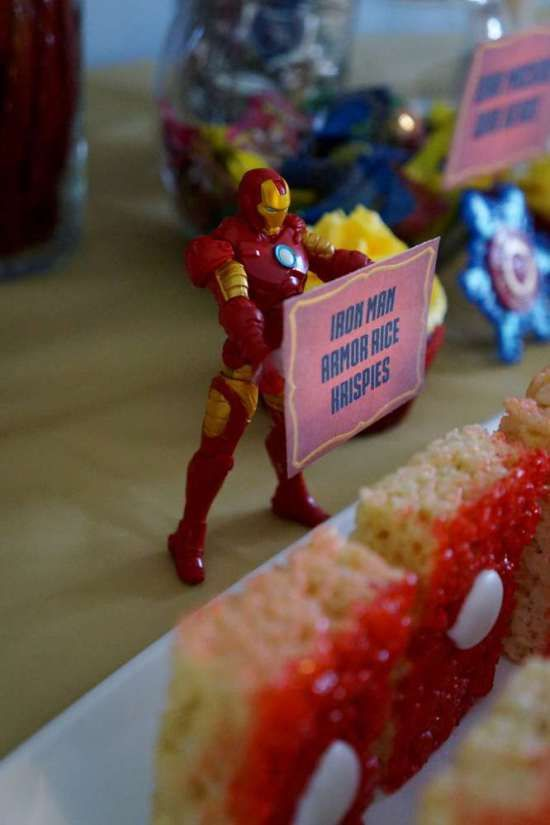 ironman-birthday-party-armour-rice-krispies-label