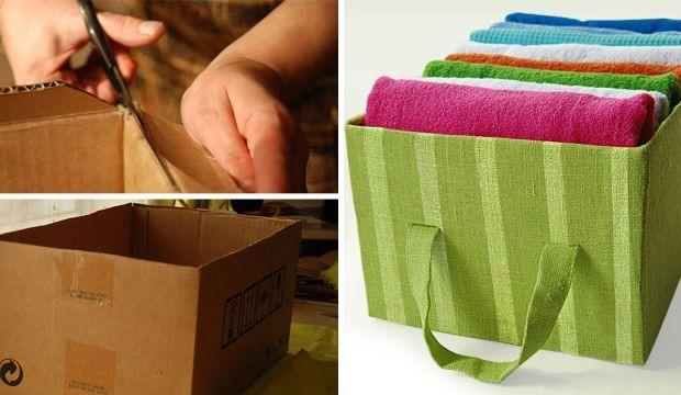 Vyrobte si doma nasledovný odkladací box