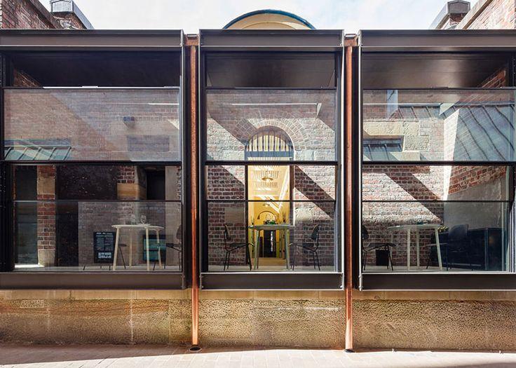 Welsh + Major transforms old Sydney police station into a restaurant