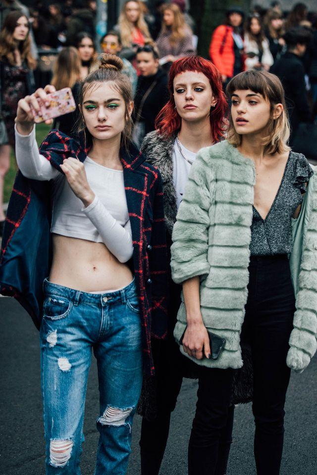 ミラノコレ最終日モデルやエディターバイヤーのスタイルをプレイバック