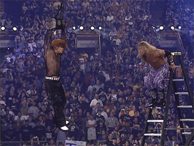 """I would think the biggest one for me, definitely the spear from Edge. That's something that'll last forever."" –Jeff Hardy refers to his most memorable moment, from 2001's WrestleMania X-7; WOOOOO! Nation #33 (12/16/15)"