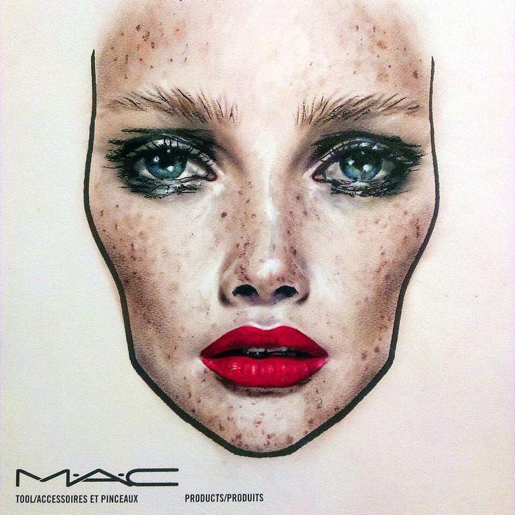 Gut bekannt The 25+ best Mac face charts ideas on Pinterest | Face charts  ZW08