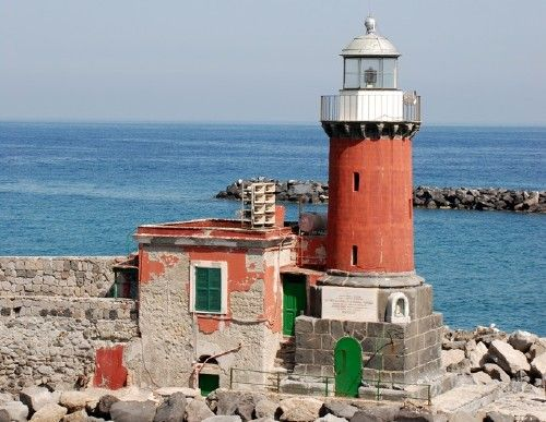 Molo Bagno Light, Porto d'Ischia, Italy. - Marga Abati