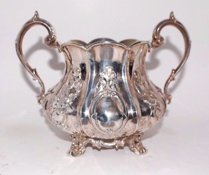 1850's SPECTACULAR VICTORIAN BRITISH STERLING SILVER BOWL