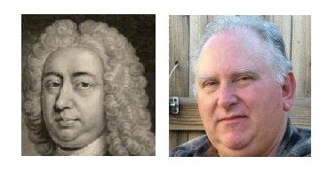 Centuries apart! Honorable John Brownlow First Viscount Tyrconnel, Knight of the Molt Honorable Order of the Bath (c.1740) and John Brownlow (born 1953)