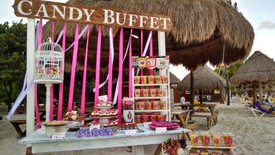 Presentacion mesa de dulces #IberostarParaiso #RivieraMaya #Mexico #LoveMemories