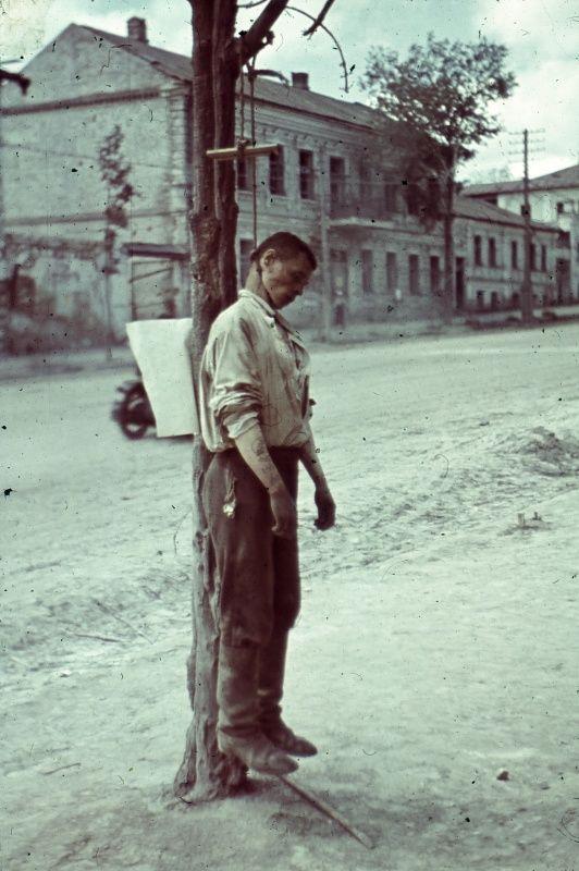 Советский партизан, казненный венгерскими оккупантами в Старом Осколе [3]