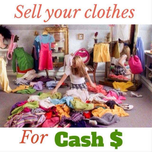 How to sell gently used clothes online
