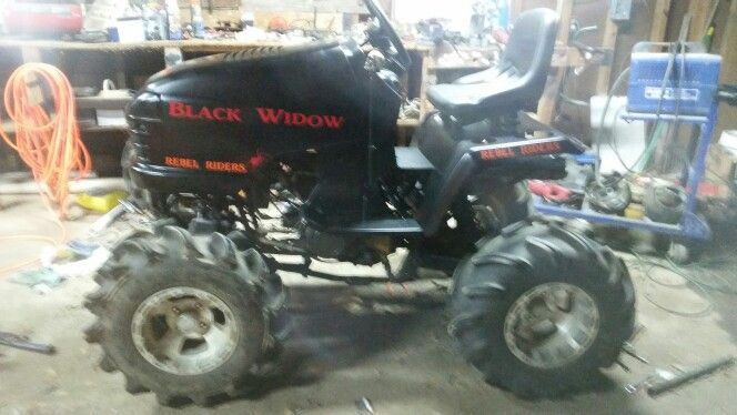 Mudding Mower Almost Finished I Only Got A Little More To