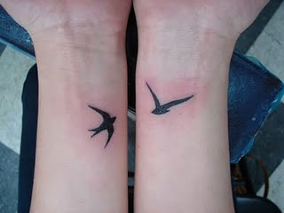 I'm thinking of getting a sparrow tattoo.