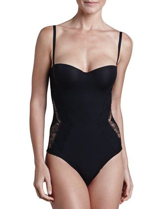 floral lace detail one-piece - Nude & Neutrals La Perla Pictures Sale Online Store Online Sale Prices Discount Finishline Discount How Much boPxOX