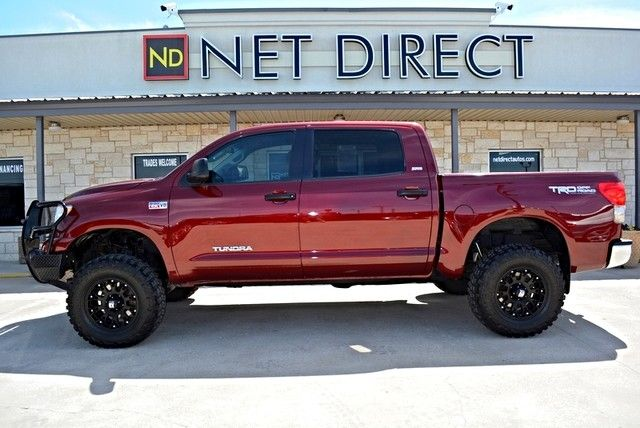 2008 Toyota Tundra Sr5 Crewmax Lifted 4wd Fort Worth Tx