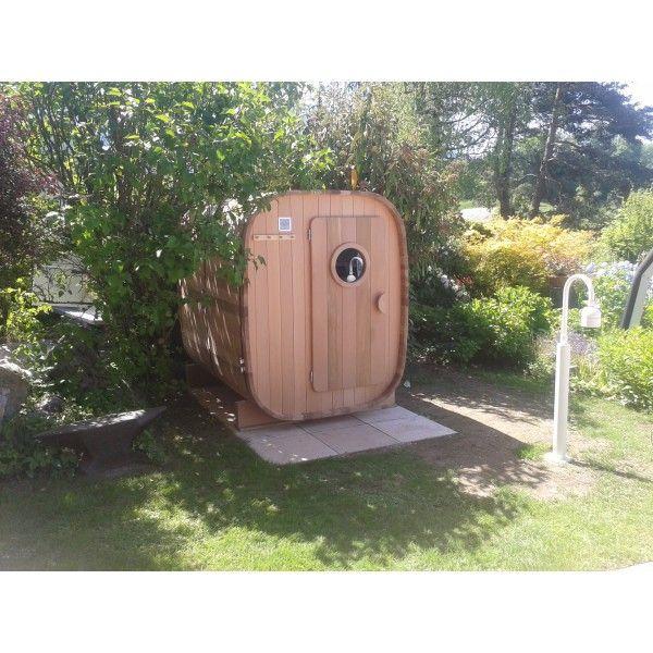 Sauna extérieur 2 / 3 personnes version chauffage électrique