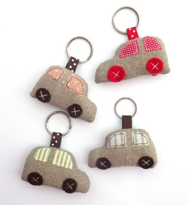 Keychains – Cute car keychain – zakka style – a unique product by countrykit…