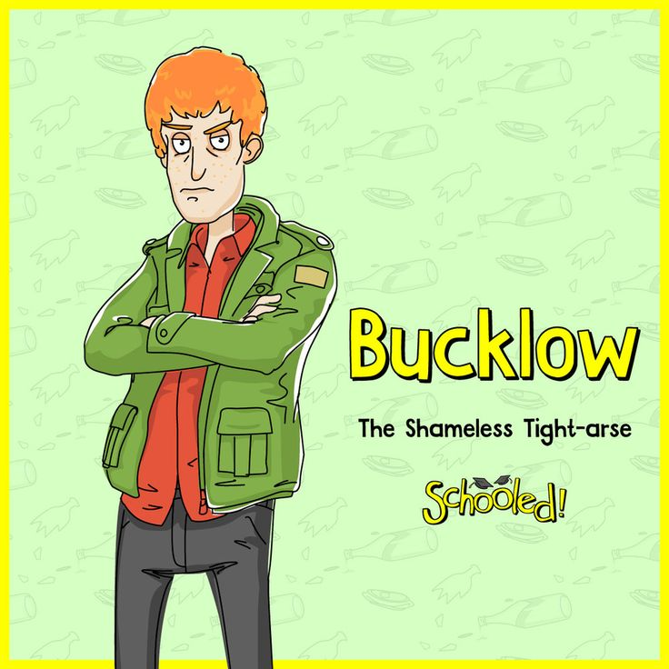 Meet Iain Bucklow! Bucklow is a utterly insufferable, shameless tight-arse who'll do anything to save a dollar. Despite his cost-cutting schemes being fundamentally flawed, he'll never admit they're due to his own frugality and uses all sorts of cover-ups to evade detection. Being the last resort for the beer pong final, Benny sees straight through Bucklow's ruse when he claims he can't compete because he has a 'Hot dinner date'.