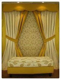 Cortinas para dormitorios matrimoniales pequeños