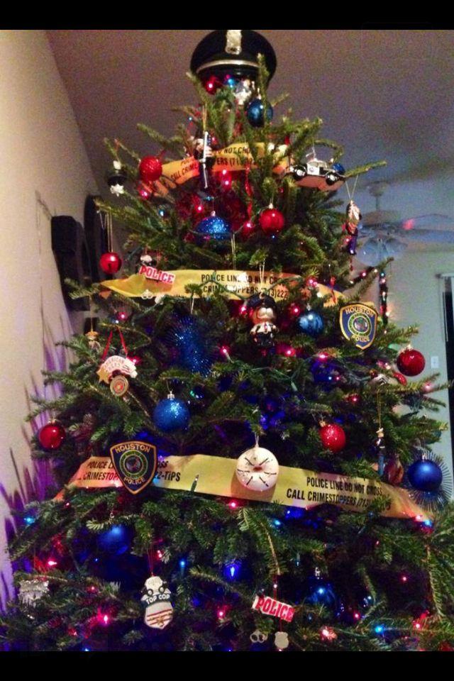 Police Christmas Tree … | Police | Pinte…