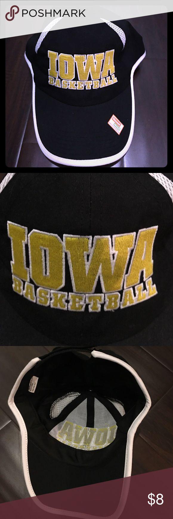 Iowa Basketball Cap- NEW Women's black adjustable Iowa Basketball cap...NEW! Accessories Hats