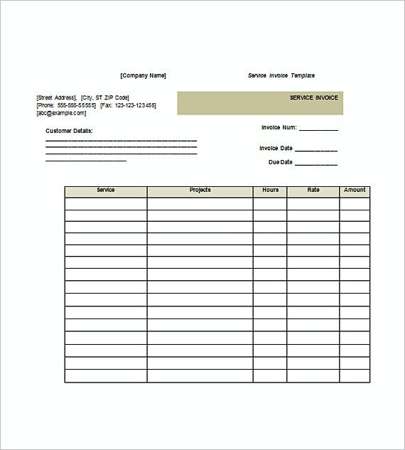 Free Service Invoice templates in Word Doc , Invoice for Services Template , Invoice for Services Template with Differently Colored Designs Based on the Kinds Have you been searching for the best template design to go with? We...