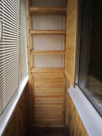 ТОП 30 идей как сделать шкафчики на БАЛКОН. Мастер-Класс