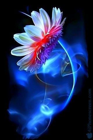 Flower Art Mobile Wallpaper:  http://www.4iphonescreen.com/wallpaper-flower-art-1085.htm #Flowers #Flowerswallpapers #Flowersphotos #Flowerart #Mobilewallpapers