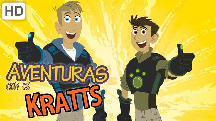 Aventuras com os Kratts. Série de animação do Discovery Kids.