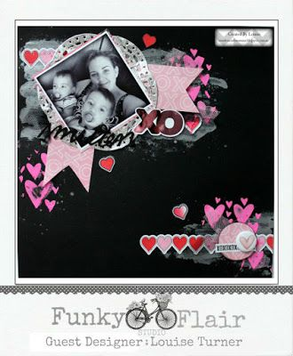 Louise Turner - TimelessCraftMumma for Funky Flairs Studio