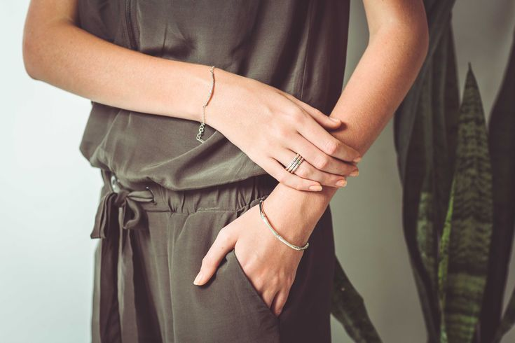 Bamboo Cuff Bracelet in Sterling Silver. Shop the full collection at www.murkani.com.au
