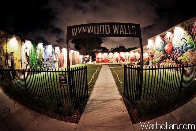 Documenting Wynwood Walls at Night - Nov. 26th, 2011 - Art Basel Miami 2011 - photos by Michael Cuffe by WarholianPics, via Flickr
