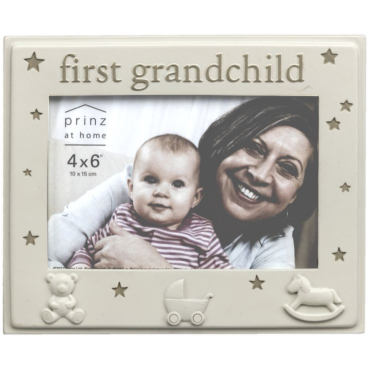 'First Grandchild' Baby Picture Frame