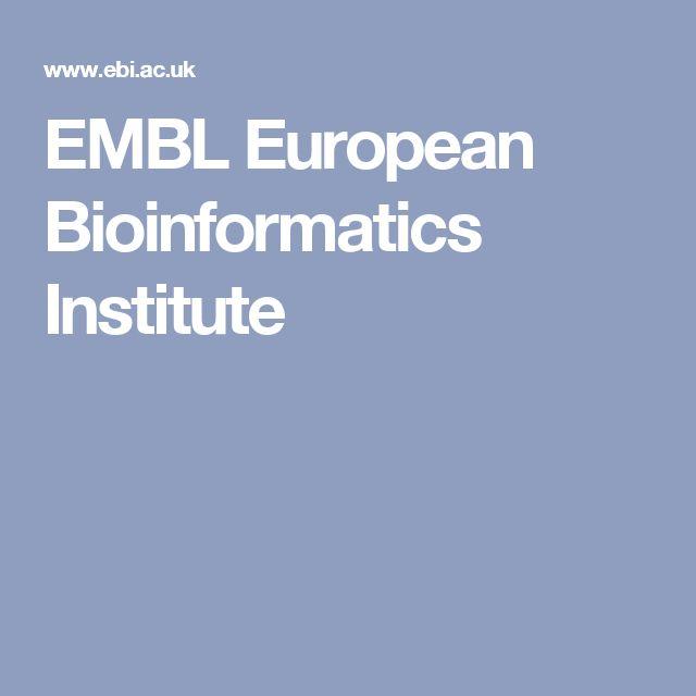 EMBL European Bioinformatics Institute