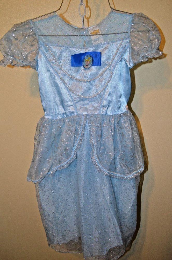 Cinderella Princess Childs costume dress-up Disney Classics sz 7-8 Theatre Play  #Disney #Dress