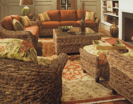 We Sell This Seagrass Furniture With Your Choice Of Fabric... Check It Out