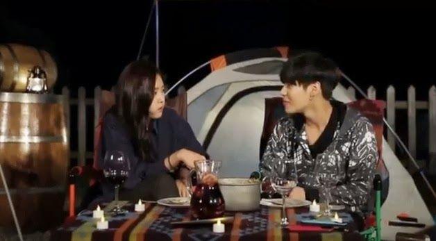 131029 We Got Married 'Spain Camping' Unseen Video - Son Naeun & Taemin (RAW)