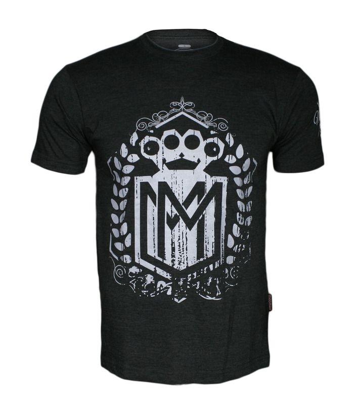 Koszulka 'Logo' grafitowa - przód ---> Streetwear shop - odzież uliczna, kibicowska i patriotyczna / Przepnij pina!