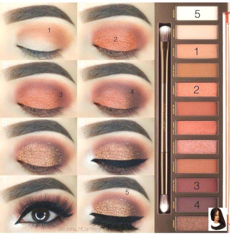 #Augen #AugenMakeup #Braunes #Eye #eye makeup looks #Eyemakeup