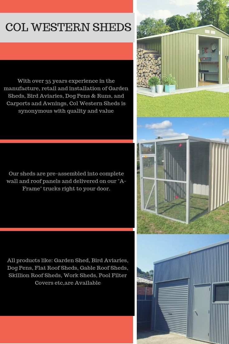 Col Western Sheds Have Sales And Display Offices In Smeaton Grange