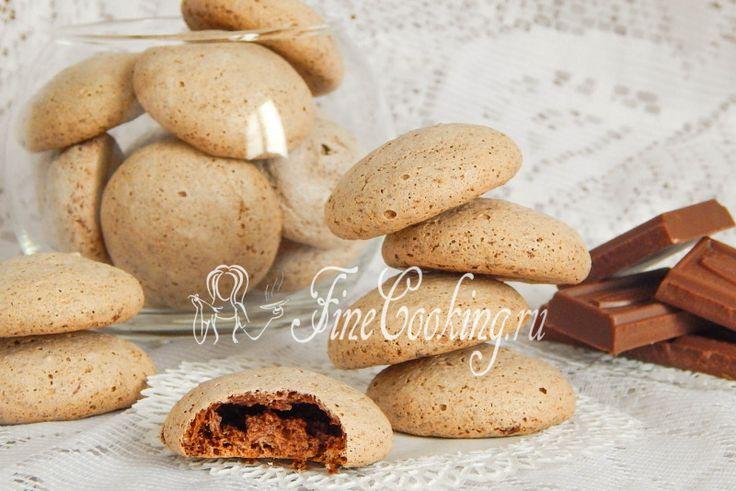 Печенье Поцелуй в диафрагму - рецепт с фото
