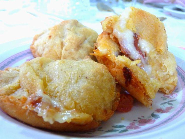 Miracle Dough Pizza Poppers (Grain free baking mix = 2c almond flour and 2/3c coconut flour)