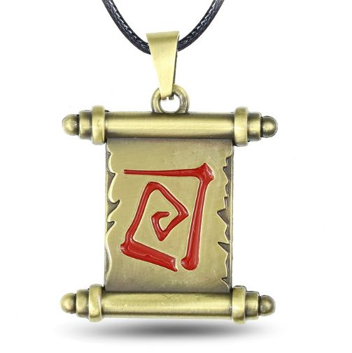Dota 2 Magic Scroll Necklace //Price: $9.95 & FREE Shipping //
