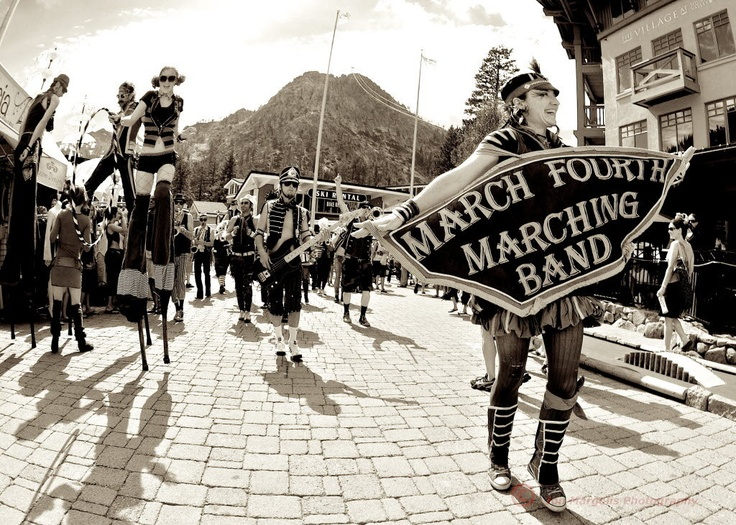 Love these guys! Seeing them @FloydFest this year: March Fourth Marching Band #Portland #KeepPortlandWeird